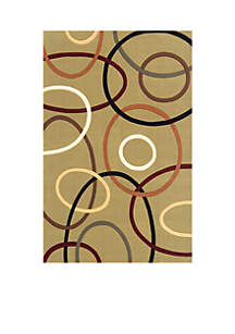 Elements Ovals Sage Area Rug 5' x 8'