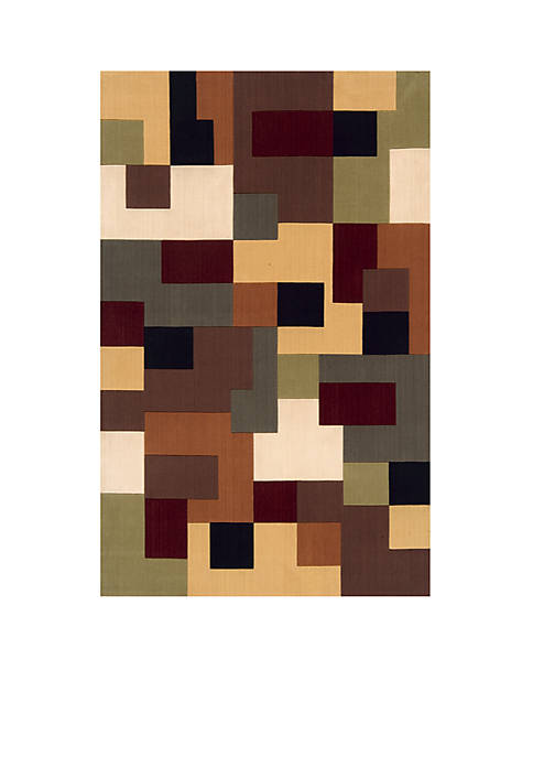 Momeni Elements Blocks Multi Area Rug