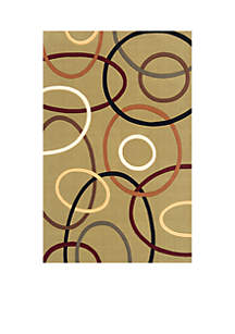 Elements Ovals Sage Area Rug 2'6\