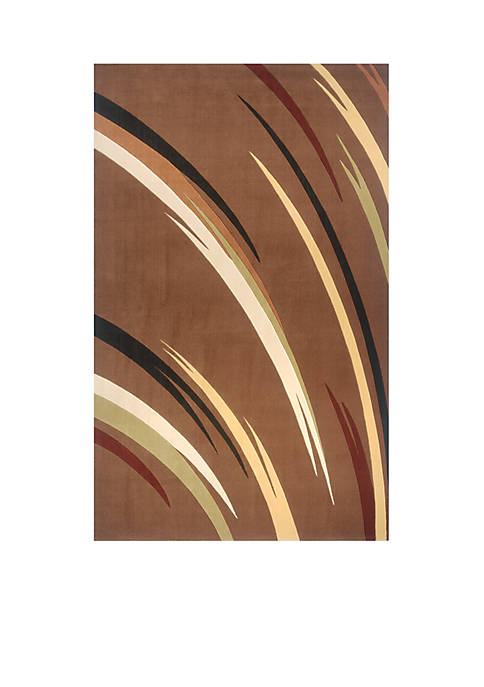 Elements Reeds Brown Area Rug 2 x 3