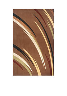 Elements Reeds Brown Area Rug