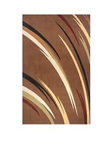 Elements Reeds Brown Area Rug