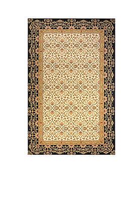Persian Garden Woven Charcoal Rug 2 x 3