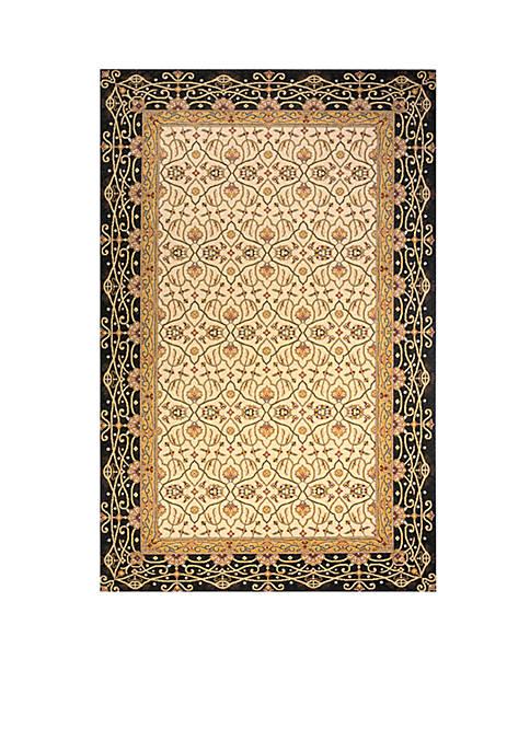 "Momeni Persian Garden Woven Charcoal Rug 26"" x"