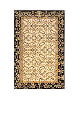 Persian Garden Woven Charcoal Rug 3 x 5