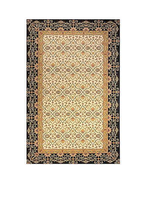 Momeni Persian Garden Woven Charcoal Rug 5 x