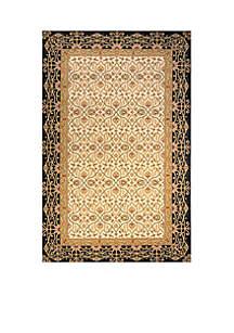 Persian Garden Woven Charcoal Rug 5' x 8'
