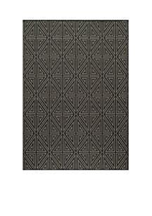 Momeni Baja Maze Charcoal Rug