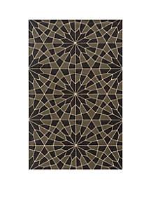 Momeni Elements Mosaic Charcoal Area Rug