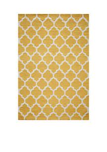Momeni Geo Tiles Yellow Area Rug
