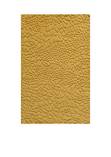 Momeni Gramercy Pebbles Gold Area Rug