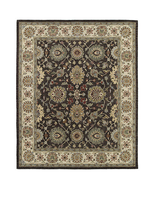 Kaleen Solomon Brown Area Rug 4 x 6