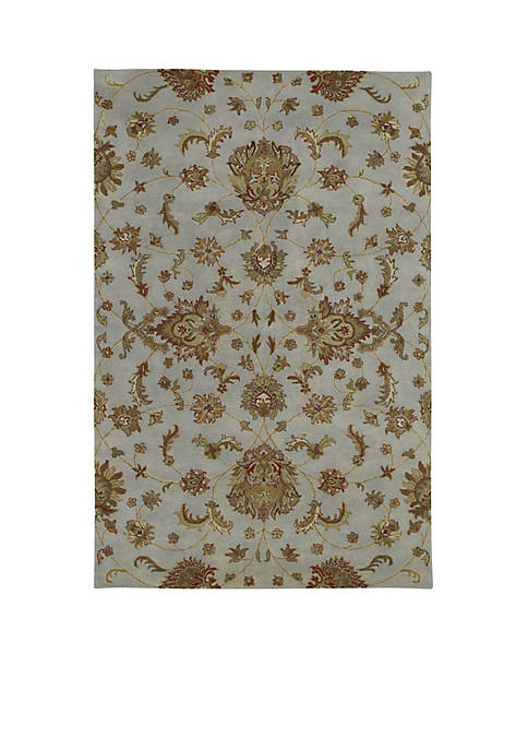"Kaleen Mystic Pewter Area Rug 36"" x 53"""