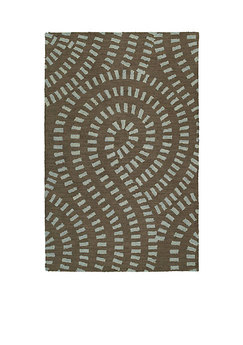 Kaleen Carriage Spa Area Rug 2 X 5