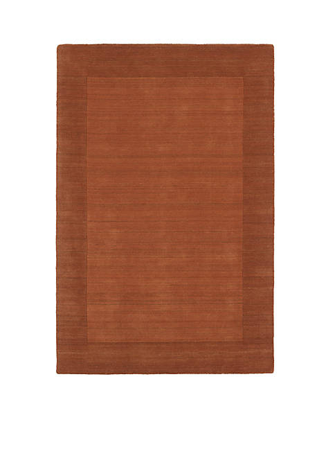 "Kaleen Regency Pumpkin Area Rug 36"" x 53"""