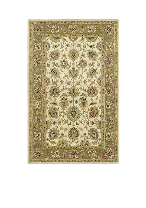 Kaleen Heirloom Linen Area Rug 6¿ x 4¿