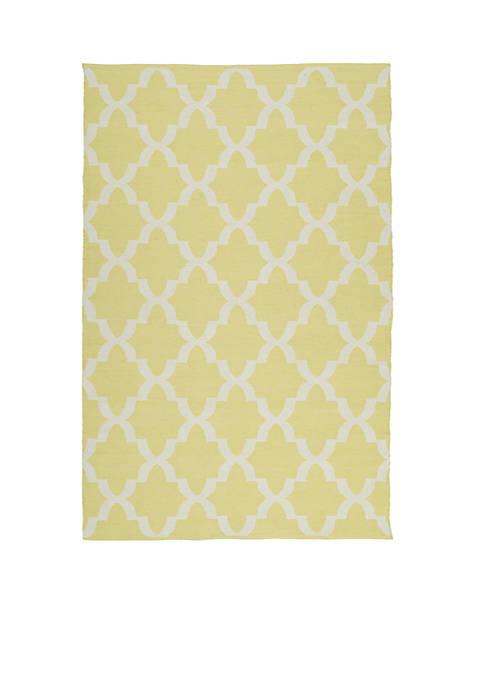 Kaleen Brisa Yellow Area Rug 2 x 6
