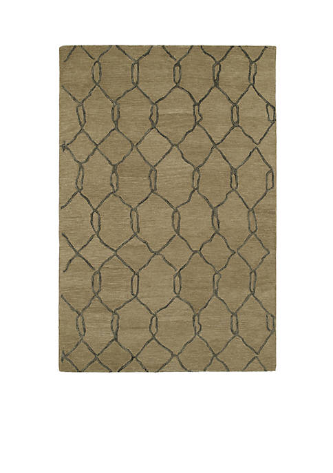 Kaleen Casablanca Light Brown Area Rug 3 x