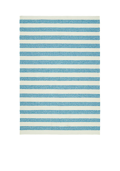 Kaleen Escape Blue Area Rug 2¿ x 6¿
