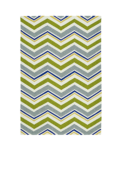 Kaleen Escape Green Area Rug 2¿ x 6¿