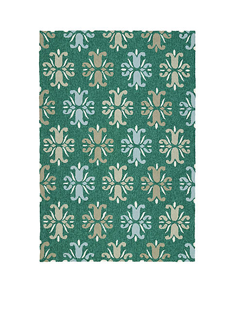 Kaleen Escape Emerald Area Rug 2¿ x 6¿
