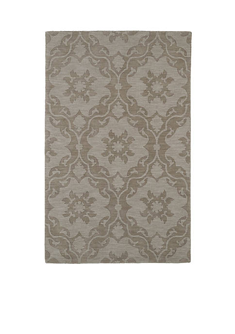 Kaleen Imprints Modern Light Brown Area Rug 5¿6¿