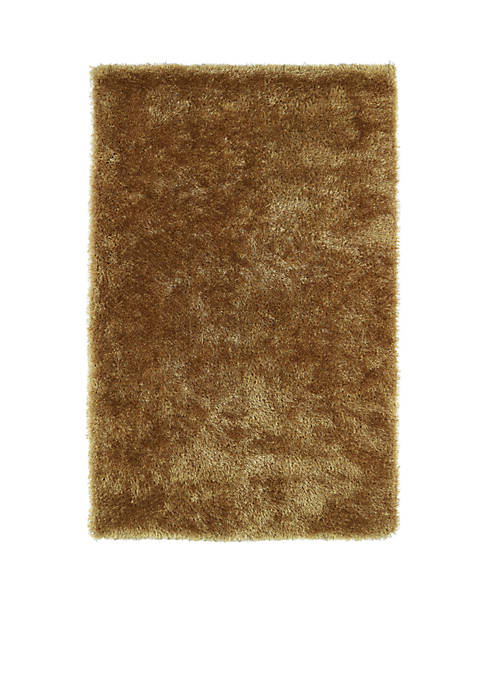 Kaleen Posh Gold Area Rug 2 x 3