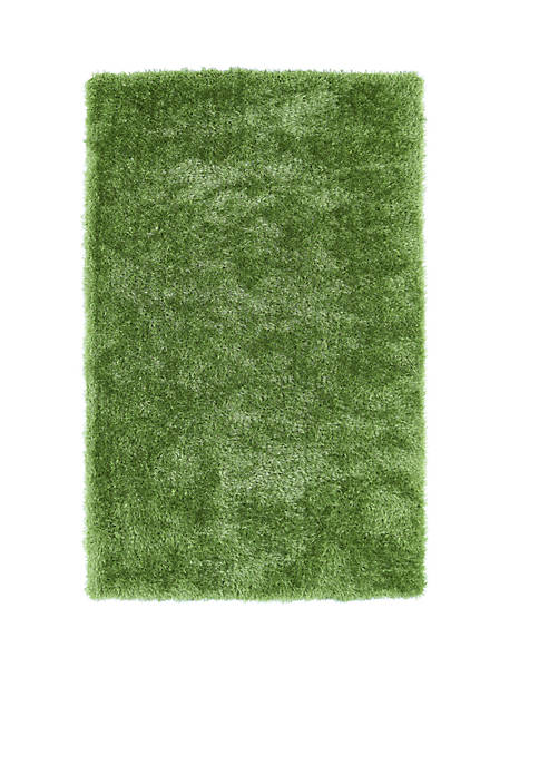 "Kaleen Posh Lime Green Area Rug 23"" x"