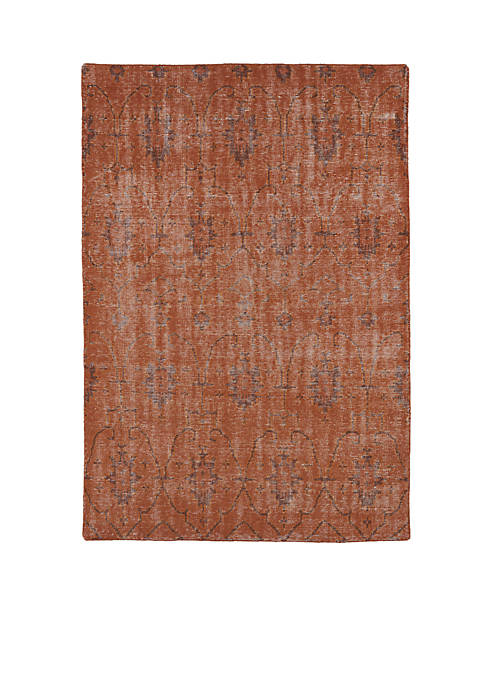 Kaleen Restoration Pumpkin Area Rug