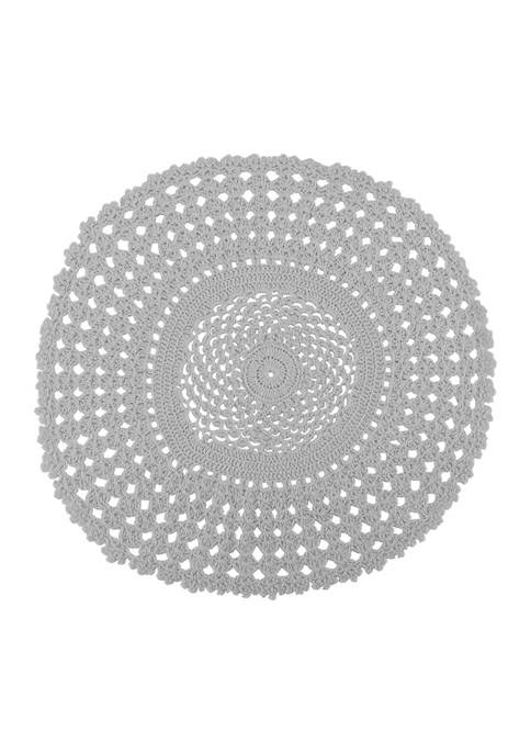 Arlee Home Fashions Inc.™ Crochet Placemat