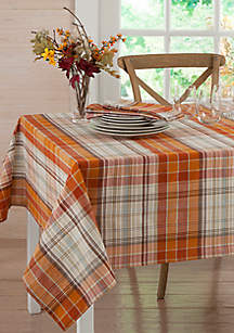 Hallmar Plaid Tablecloth