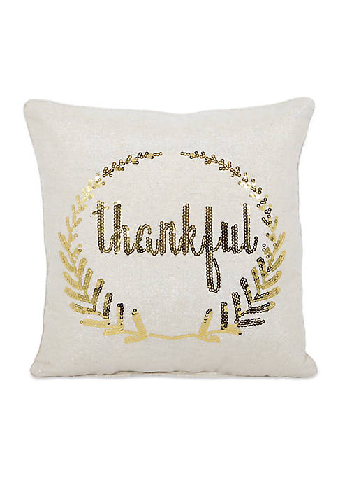 Arlee Home Fashions Inc.™ Thankful Laurel Decorative Pillow