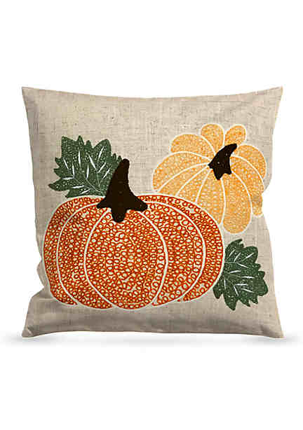 Arlee home fashions inc loop pumpkin decorative pillow