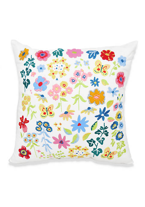Arlee Home Fashions Inc.™ Garden Posy Decorative Pillow