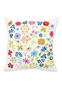 Arlee Home Fashions Inc.™ Garden Posy Decorative Pillow