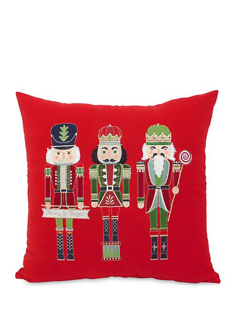 Arlee Home Fashions Inc.™ Nutcrackers Throw Pillow