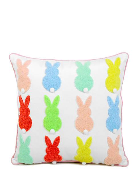 Bunny Peeps Decorative Pillow
