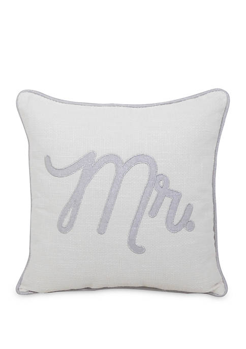 Arlee Home Fashions Inc.™ Mr. Throw Pillow