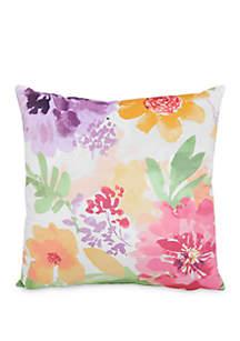 Arlee Home Fashions Inc.™ Dahlia Floral Print Decorative Pillow