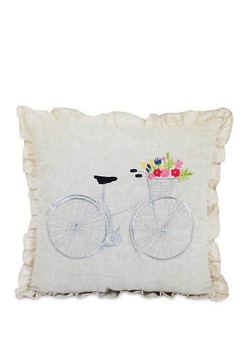 Bicycle Decorative Pillow