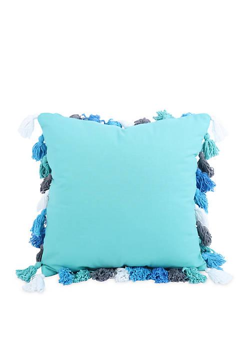 Arlee Home Fashions Inc.™ Celebrate Aqua Throw Pillow