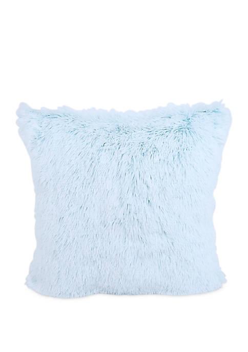 Warmly Back Print Pillow