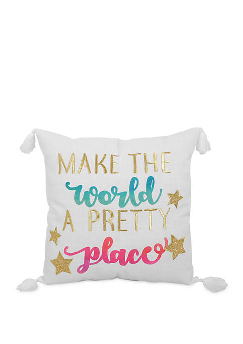 Arlee Home Fashions Inc.™ World Better Throw Pillow