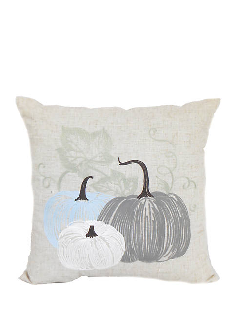 Pumpkin Square Thrown Pillow