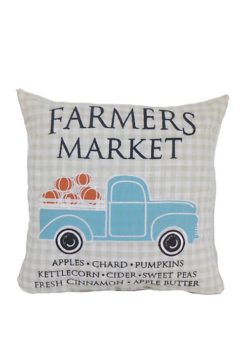 Arlee Home Fashions Inc.™ Farmers Market Throw Pillow