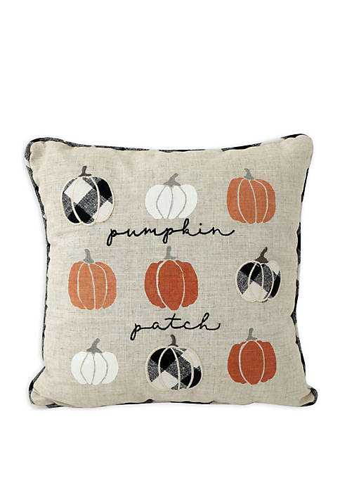 Arlee Home Fashions Inc.™ Pumpkin Patch Script Throw