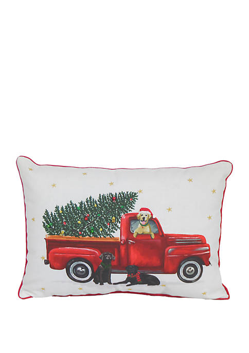 Arlee Home Fashions Inc.™ Holiday with Dogs Throw