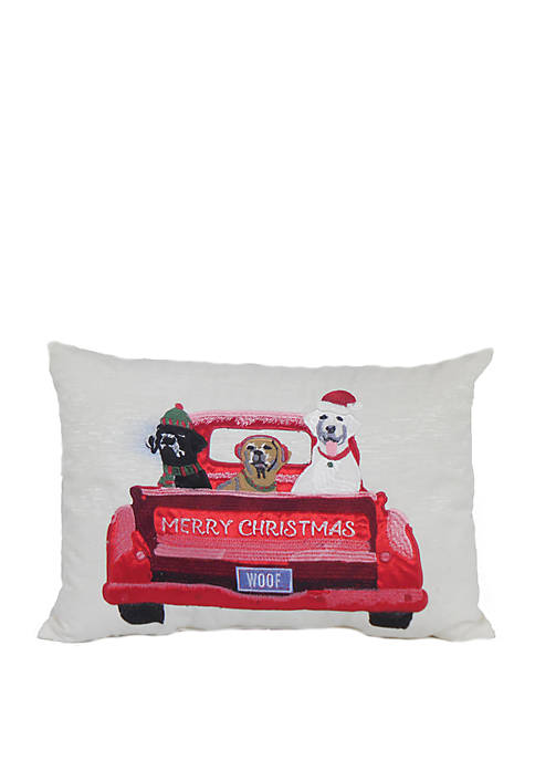 Arlee Home Fashions Inc.™ Merry Christmas Dogs Throw