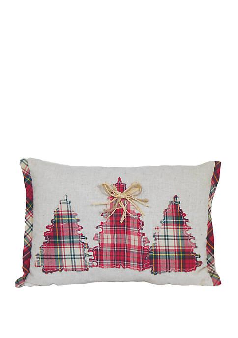 Arlee Home Fashions Inc.™ Christmas Tree Patchwork Throw