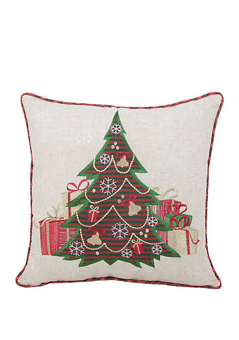 Arlee Home Fashions Inc.™ Christmas Tree Throw Pillow
